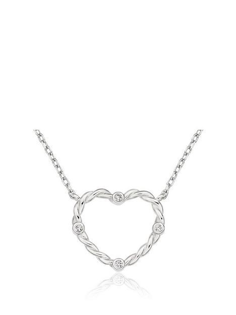 beaverbrooks-beaverbrooks-silver-cubic-zirconia-heart-necklace