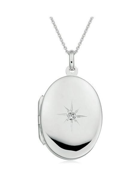 beaverbrooks-beaverbrooks-silver-cubic-zirconia-starburst-locket