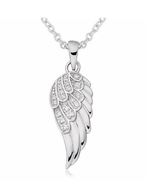 beaverbrooks-beaverbrooks-silver-cubic-zirconia-angel-wing-pendant