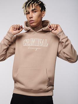 criminal-damage-craft-hoodie-sandnbsp