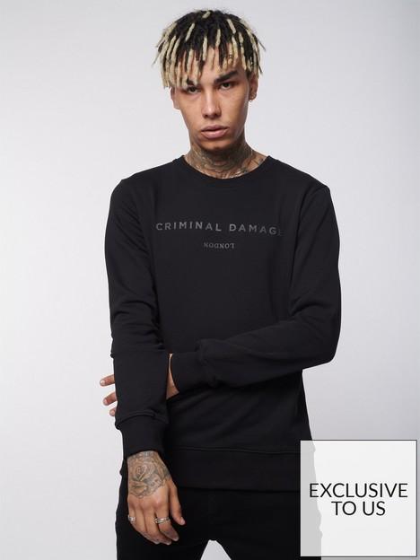 criminal-damage-londonnbspsweatshirt-black
