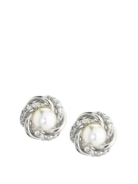love-pearl-rhodium-plated-4-45mm-white-freshwater-pearl-cubic-zirconia-flower-studs