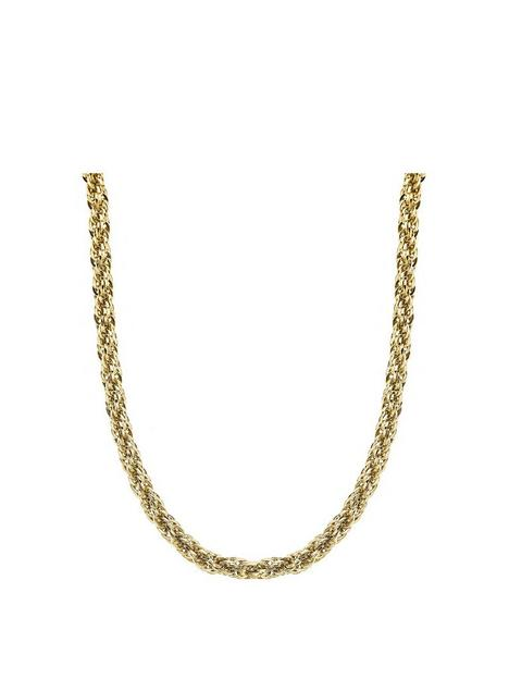 love-gold-love-gold-9ct-yellow-gold-266mm-width-rope-chain-necklace-18-inches