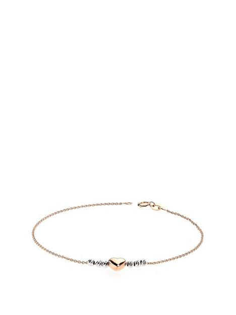 love-gold-9ct-two-colour-diamond-cut-beads-and-heart-bracelet