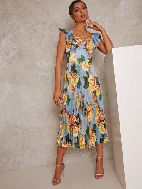 chi-chi-london-chi-chi-ruffle-floral-print-midi-dress
