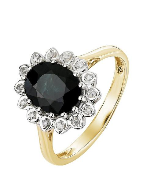 love-gem-9ct-yellow-gold-sapphire-and-diamond-cluster-ring