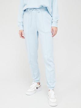 hunkemoller-cotton-pyjama-sweat-pant-blue