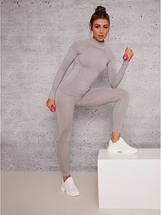 chi-chi-london-rae-gym-leggings-light-grey