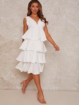 chi-chi-london-sleeveless-ruffle-midi-dress-white