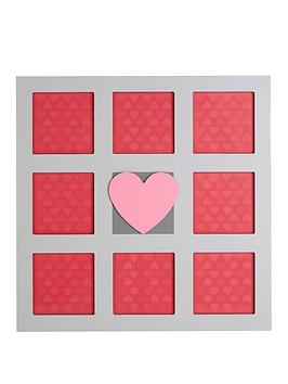 premier-housewares-heart-photo-frame-8-sections
