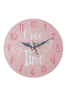 premier-housewares-once-upon-a-time-wall-clock