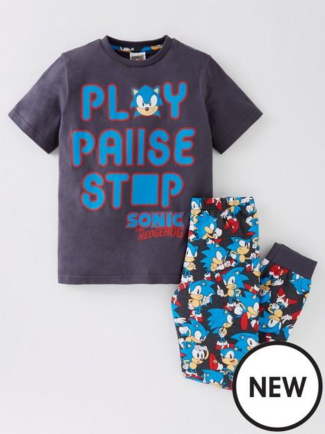 sonic-the-hedgehog-boys-sonic-play-pause-stop-short-sleeve-pyjamas-multinbsp