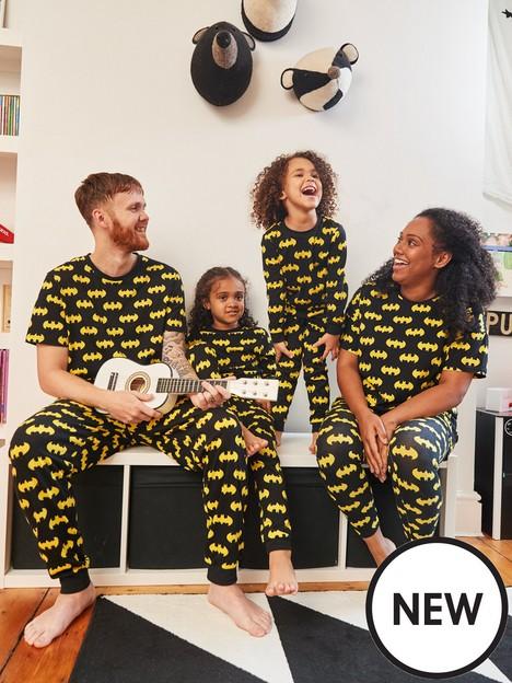 batman-unisex-kids-batman-mini-me-pyjamas-blacknbsp