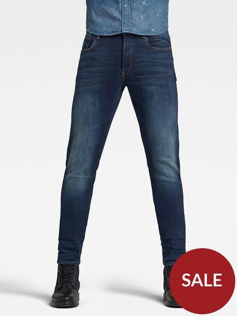 g-star-raw-3301-slim-fit-jeans-blue