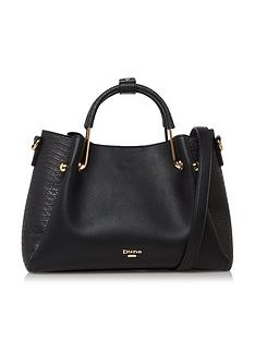 dune-london-diana-tote-bag-black-croc