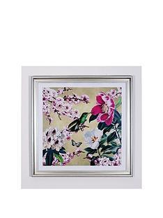 arthouse-oriental-blossom-bird-framed-print