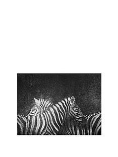 arthouse-zebra-canvas-with-glitter