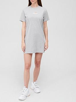 ellesse-heritage-leana-t-shirt-dress-grey
