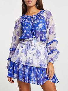 river-island-floral-smock-dress-blue