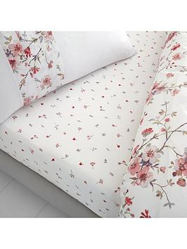 catherine-lansfield-jasmine-floral-fitted-sheet