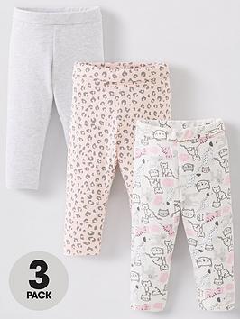 mini-v-by-very-baby-girls-3-pack-animal-print-and-plain-leggings-multi