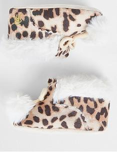 river-island-baby-baby-girls-leopard-bootie--nbspbrown