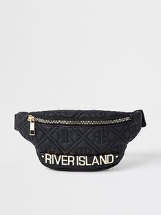 river-island-girls-quilted-bumbag--nbspblack