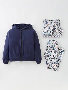 v-by-very-girls-3-piece-zip-thru-active-floral-set-multi