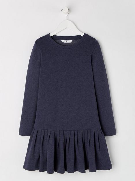 v-by-very-girls-essential-drop-waist-sweater-dress-navy