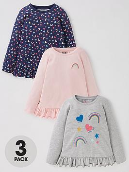 mini-v-by-very-girls-3-pack-rainbow-long-sleeve-peplum-t-shirt-multi