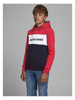 jack-jones-junior-boys-logo-blocking-hoodie-rednavy