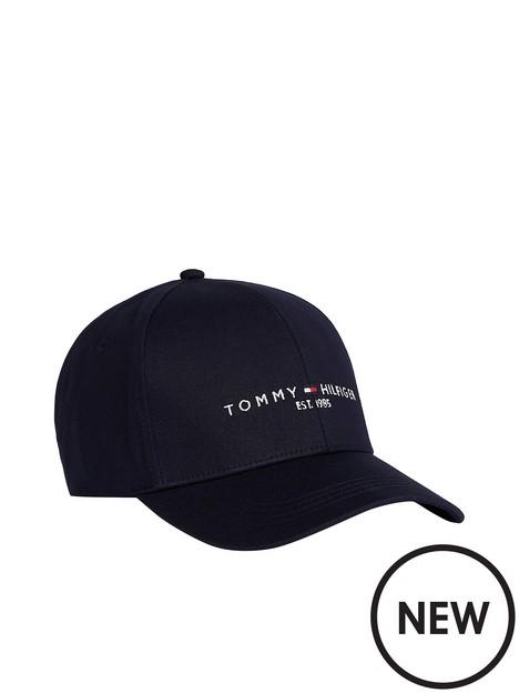 tommy-hilfiger-established-logo-baseball-cap-navy