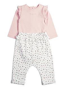 mamas-papas-baby-girls-floral-legging-and-bodysuit-set-multi