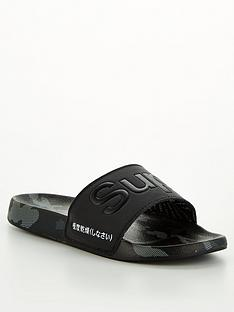 superdry-all-over-printnbspbeach-sliders-black