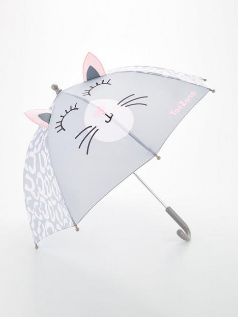 v-by-very-girls-leopard-print-umbrella-grey