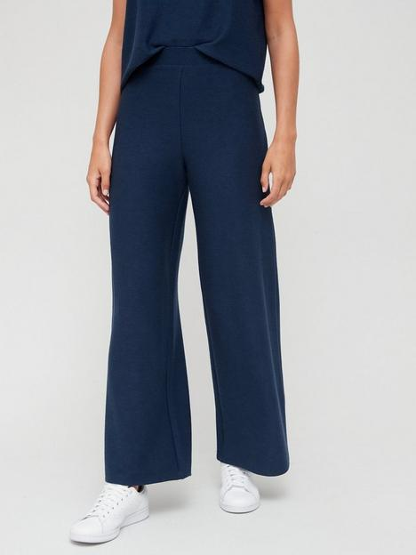 v-by-very-ribbed-wide-leg-co-ord-pant-navy