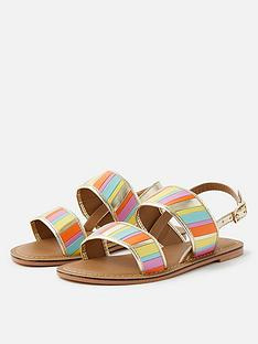 accessorize-girls-rainbow-stripe-sandals-multi