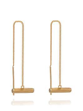 rachel-jackson-london-22ct-gold-plated-sterling-silver-mini-malachite-t-bar-drop-earrings