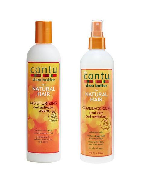cantu-cantu-curl-activator-cream-355ml-and-comeback-curl-spray-355ml-bundle