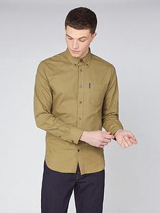 ben-sherman-ben-sherman-long-sleeve-signature-gots-organic-oxford-shirt