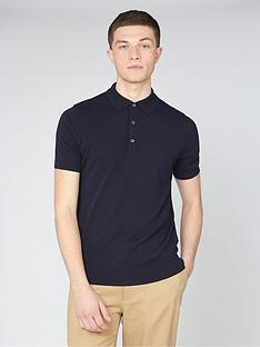 ben-sherman-ben-sherman-short-sleeve-signature-knitted-polo