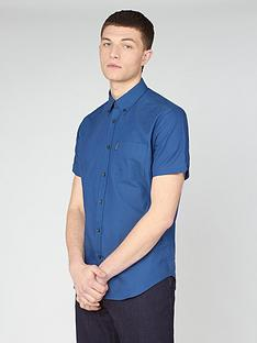 ben-sherman-ben-sherman-short-sleeve-signature-gots-organic-oxford-shirt