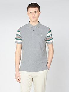 ben-sherman-sleeve-stripe-polo