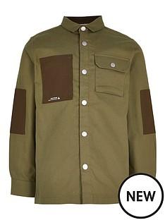 river-island-boys-pocket-shirt-khaki