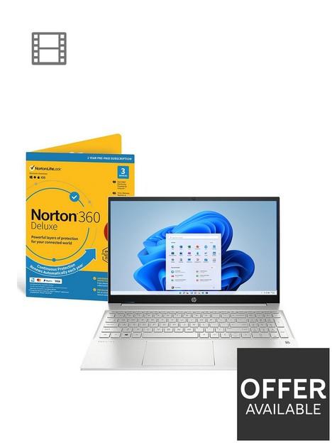 hp-pavilion-15-eh0012na-laptop-156in-fhdnbsptouchscreennbspamd-ryzen-7nbsp8gb-ramnbsp512gb-ssdnbspnorton-360-securitynbspwith-optional-microsoft-365-family-15-monthsnbsp--silver