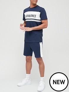 jack-jones-colour-block-short-sleeve-crew-neck-navynbsp