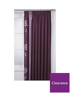 Savannah Lined Pencil Pleated Curtains