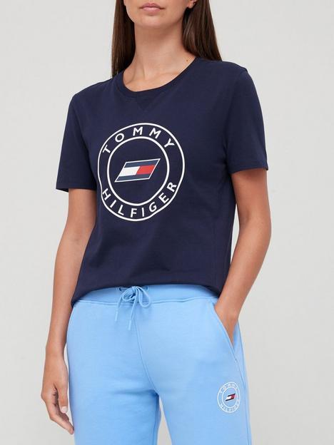 tommy-sport-slim-round-graphic-t-shirt-navy