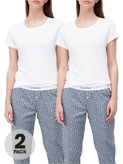 calvin-klein-lounge-t-shirts-2-pack-white