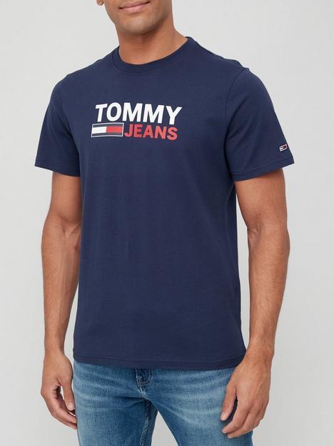 tommy-jeans-corp-logo-t-shirt-navynbsp